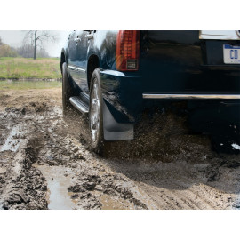 Weathertech Mud Flap 120018 | Mud Flap - Black