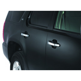 AVS Chrome Door Lever Cover™ - 4 pc. - Handle Only 685402 | Exterior Door Handle Cover - Chrome