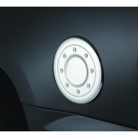 AVS Chrome Fuel Door Cover™ 688771   Fuel Door Cover - Chrome