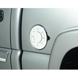 AVS Chrome Fuel Door Cover™ 688773   Fuel Door Cover - Chrome