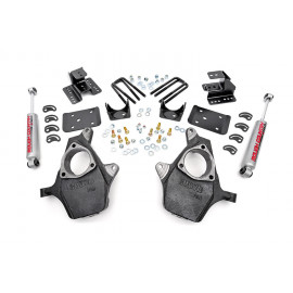 Rough Country Spindle Lowering Kit 721.20 | Suspension Body Lowering Kit
