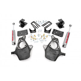Rough Country Spindle Lowering Kit 722.20 | Suspension Body Lowering Kit