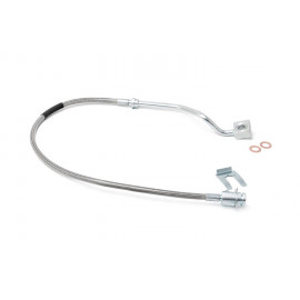 Rough Country Stainless Steel Brake Lines 89713 | Brake Hydraulic Line Kit