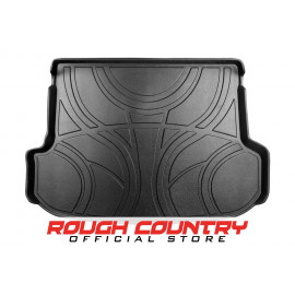 Rough Country Heavy Duty Cargo Liner Floor Mat M-6155 | Cargo Area Liner