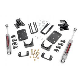 Rough Country Lowering Kit 71830 | Suspension Body Lowering Kit