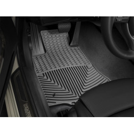 Weathertech Floor Mat Set W392 | Molded Floor Mat Set - Black