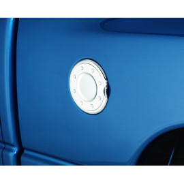 AVS Chrome Fuel Door Cover™ 688774 | Fuel Door Cover - Chrome
