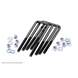 Rough Country | 7607 | Leaf Spring Axle U-Bolt Kit