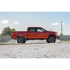 Rough Country Fender Flares F-F11511N | Fender Flare